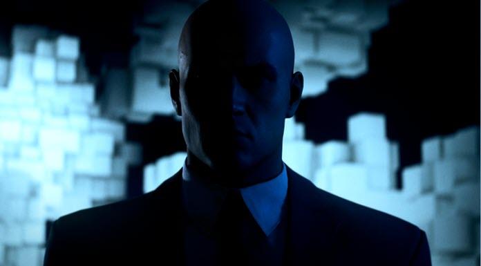 Silueta del agente 47 de Hitman