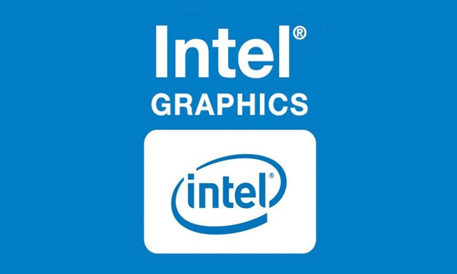 Logotipo de Intel Graphics.