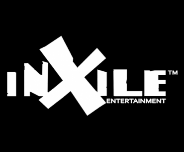 Logotipo de Inxile Entertainment en color blanco en un fondo negro