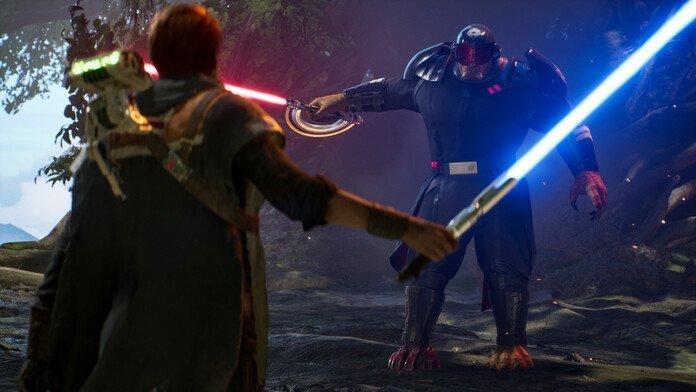 Jugabilidad de Star Wars: Jedi Fallen Order.