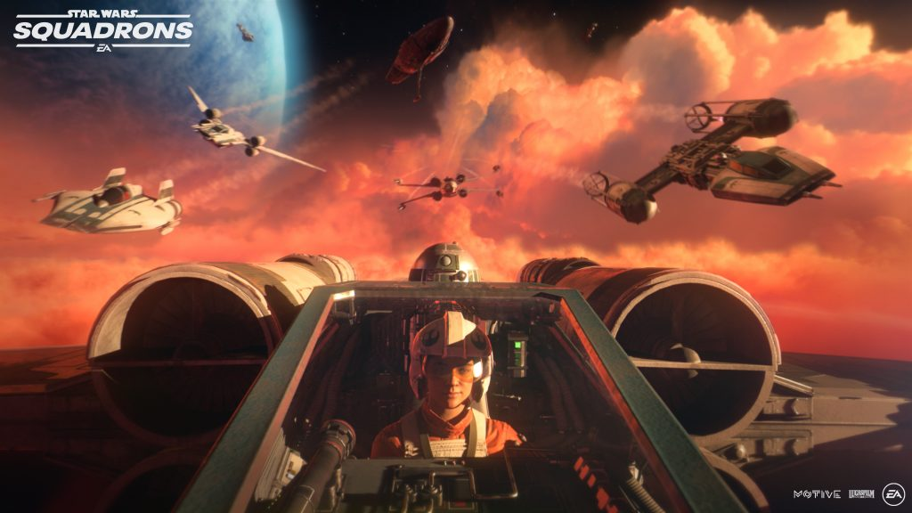 Imagen promocional Star Wars: Squadrons.