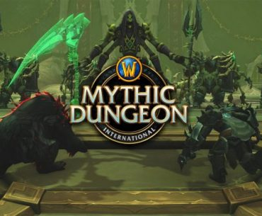 Imagen promocional de Mythic Dungeon Invitational de World of Warcraft