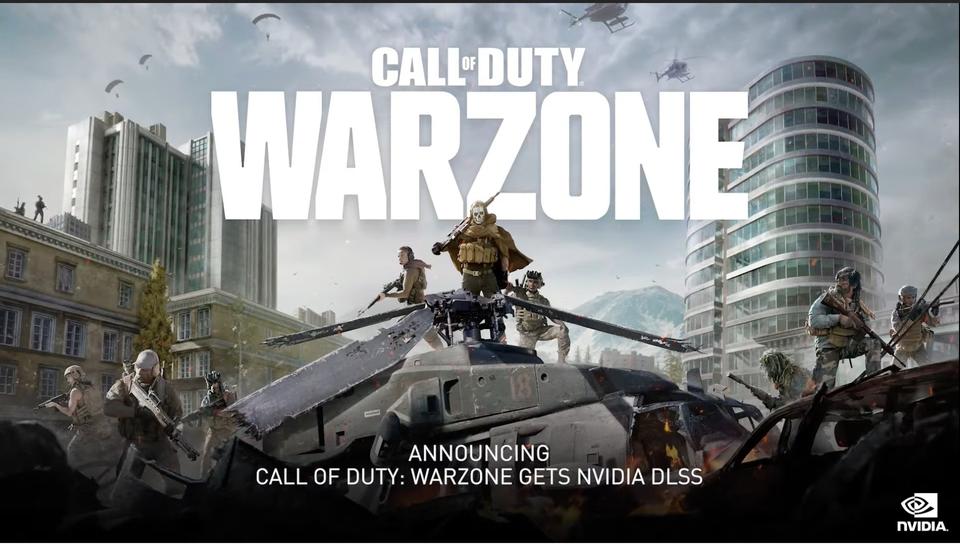 Imagen promocional de Nvidia para Warzone.
