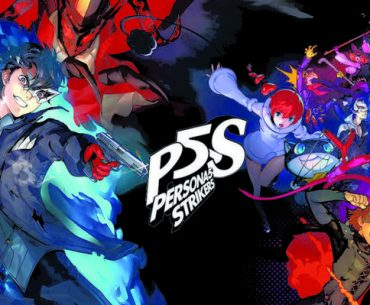Arte promocional de Persona 5 Strikers.