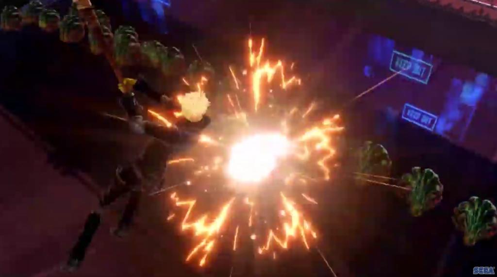 Combate con Ryuji en Persona 5 Strikers.