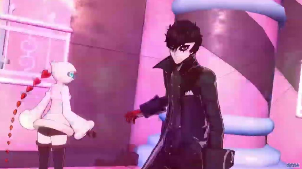 Joker y Sophia en Persona 5 Strikers.