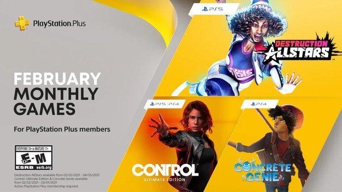 Juegos de PS Plus febrero 2021.
