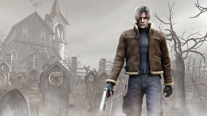 Imagen promocional de Resident Evil 4.