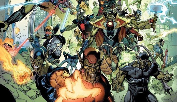 Ilustración de Secret Invasion el cómic