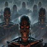 Arte de T-800 de Terminator.