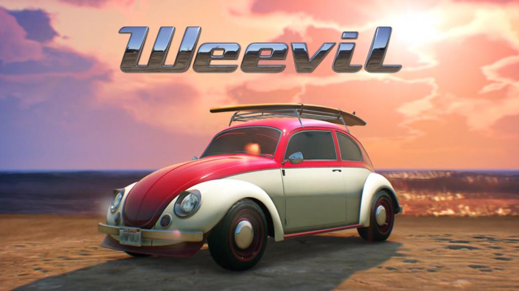 BF Weevil de GTA Online.