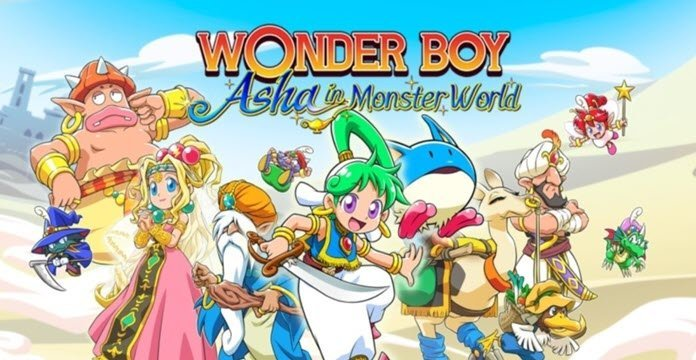 ININ Games presenta nuevo tráiler de 'Wonder Boy: Asha in Monster World'