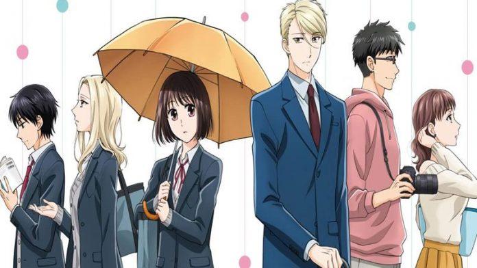 Imagen promocional del anime de Koi to Yobu ni wa Kimochi Warui