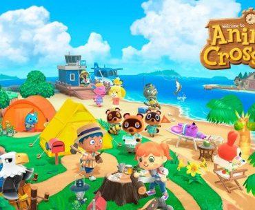 Imagen promocional de Animal Crossing: New Horizons.