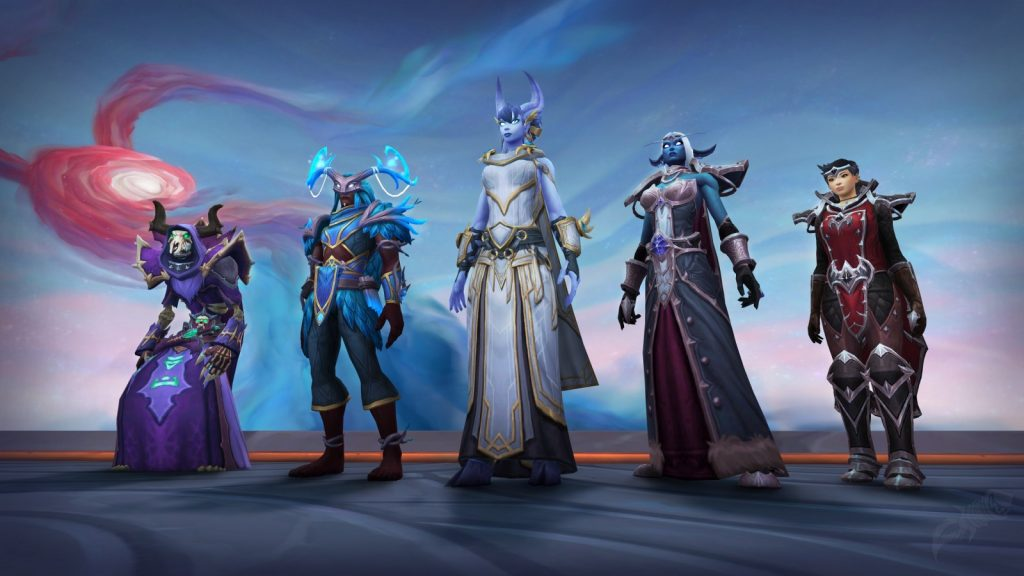 Nuevas armaduras para WoW.