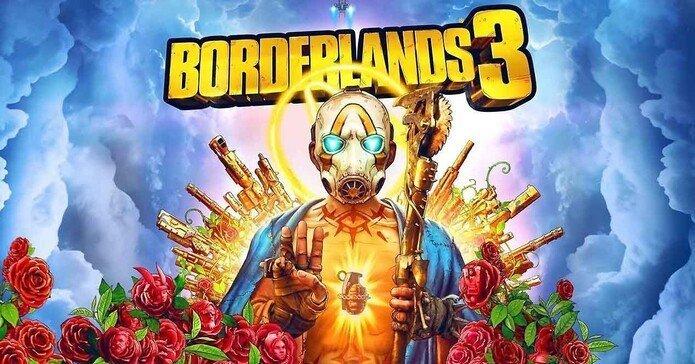 Portada de Borderlands 3.