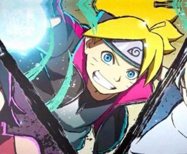 Ilustración de 'Boruto Naruto Next Generations' con el equipo 7 desatando su poder.