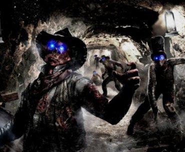 Un zombie de Call of Duty con un sombrero de vaquero