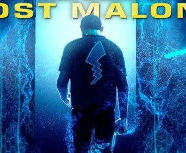 Flyer de concierto de Post Malone.