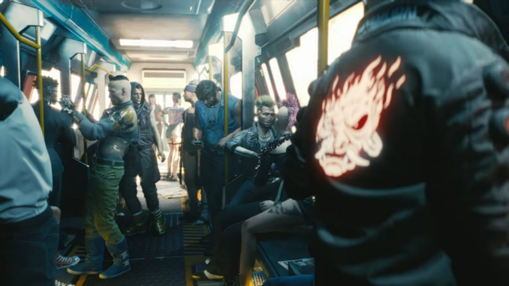 Demo del 2018 de Cyberpunk 2077.
