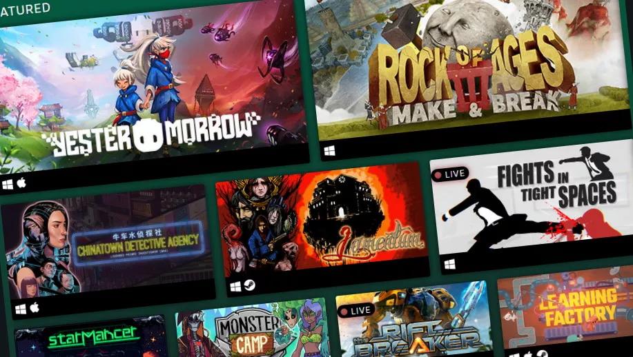 Demos en Steam Game Festival.