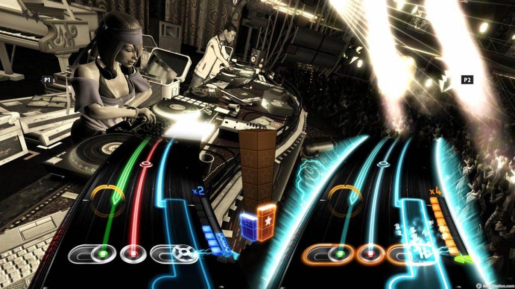 Jugabilidad de DJ Hero.