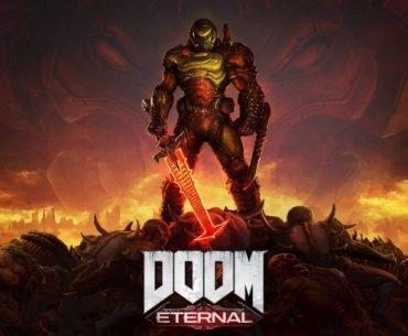 Portada de DOOM Eternal.