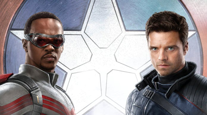 Imagen promocional de The Falcon and the Winter Soldier