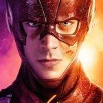 Plano cercano de The Flash CW.