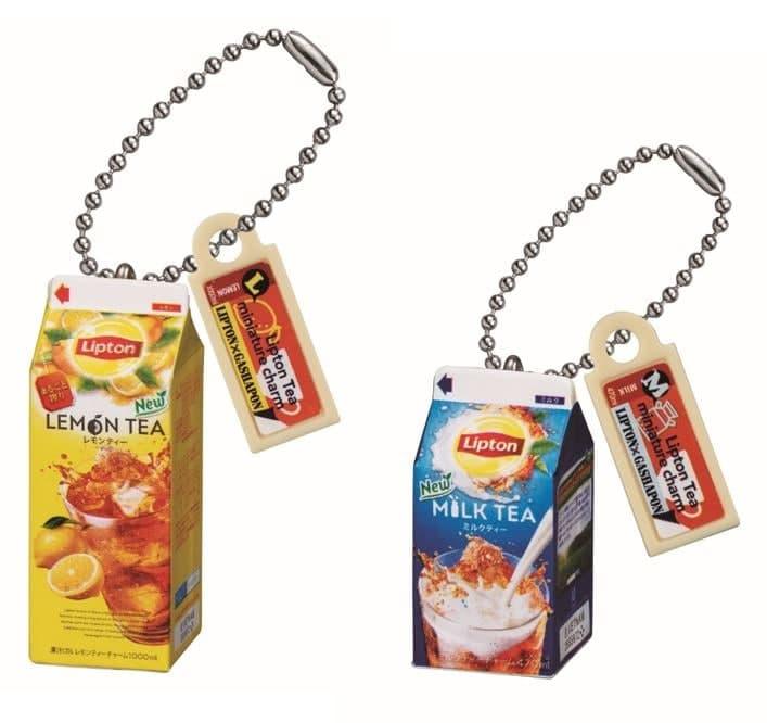 Figuras de Lipton Tea a la venta en la Gashapon Department Store de Ikebukuro