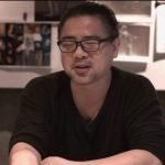 Keiichiro Toyama en medio de la presentación de Bokeh Game Studio