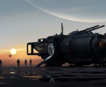 Arte del nuevo Mass Effect.