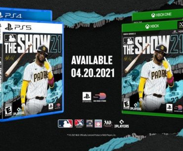 Portadas de MLB The Show 21.