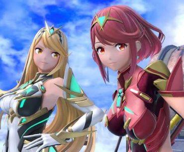 Pyra y Mythra en Smash.