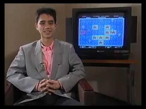 Un joven Satoshi Tajiri realizando reseñas de juegos de Arcade para Nintendo
