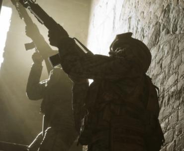 Soldados de Six Fays in Fallujah.