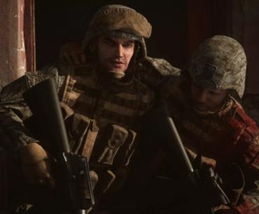 Soldados de Six Days in Fallujah.