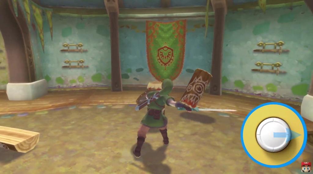 Controles tradicionales para The Legend of Zelda: Skyward Sword HD.