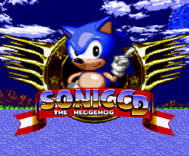 Menú de Sonic CD.