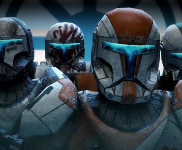 Arte de Star Wars Republic Comando.