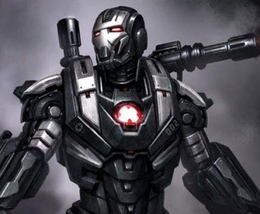 War Machine con una de sus armaduras