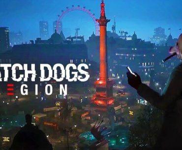 Paisaje de Watch Dogs: Legion.