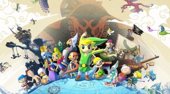 Portada de Zelda: Wind Waker.