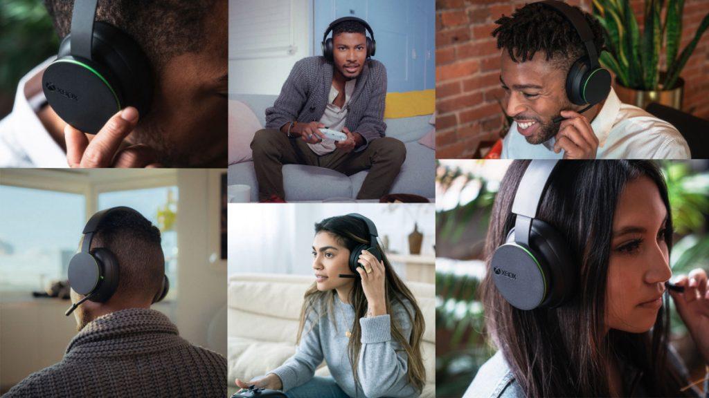 Imagen promocional de los auriculares de Xbox.