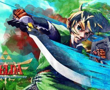 Arte de The Legend of Zelda: Skyward Sword HD..