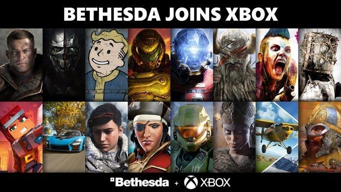 Póster de Bethesda y Microsoft.