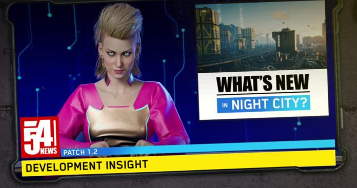 Reportera de Cyberpunk 2077.