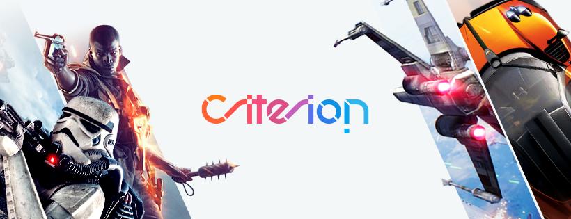 Logo y juegos de Criterio Games.