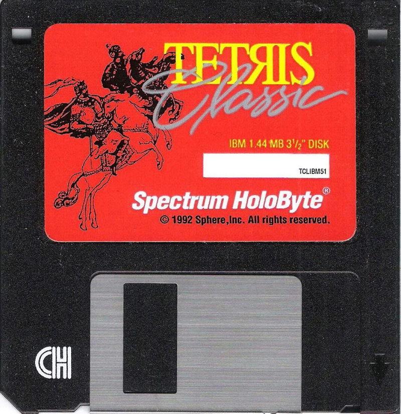 Diskette de Spectrum HoloByte.