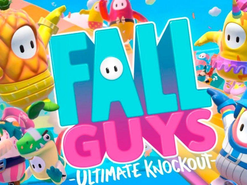 Portada de Fall Guys.